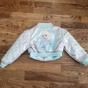 NWT Disney Store Elsa / Frozen Bomber Jacket ❤